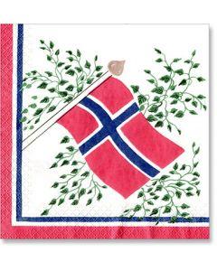 Scandinavian Flag Lunch Napkins
