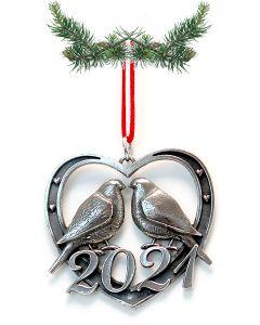 Norwegian Pewter Ornament 2021