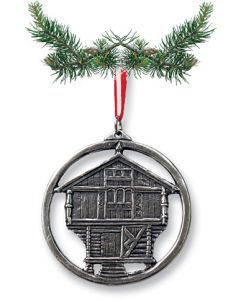 Stabbur Pewter Ornament