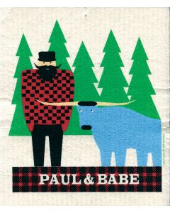 Paul Bunyan Cellulose Dishcloth