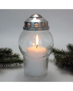Pines Glass Outdoor Votive
