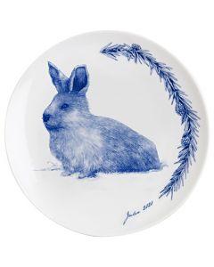 Porsgrund Christmas Plate 2020