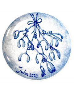 Porsgrund Christmas Plate 2021
