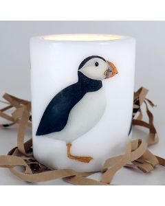 Puffin Candle