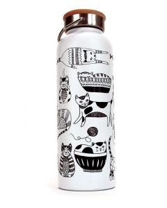 Purr Party Thermos Bottle