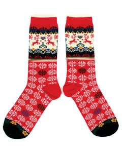 Red Renne Socks