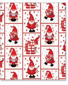 Red Tomtar Gift Wrap