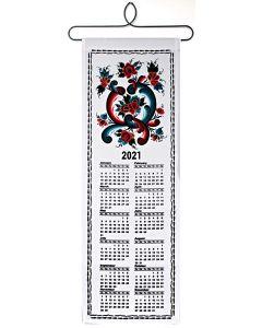 Rosemaling Cloth Calendar 2021