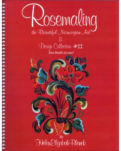 Rosemaling the Beautiful Norwegian Art & Design Collection #2.