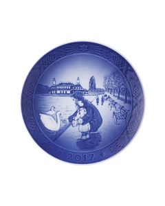 Royal Copenhagen 2017 Christmas Plate