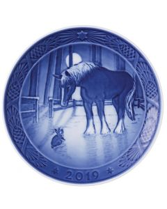 Royal Copenhagen Christmas Plate 2019