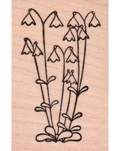 Linnea Flower Rubber Stamp