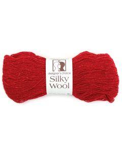 Silky Wool Yarn 209 Vermillion