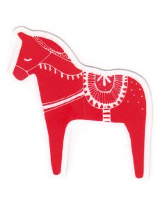 Sleepy Dala Horse Sticker