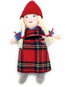 Small Anja Beanbag Doll