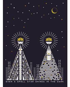 Small Star Print