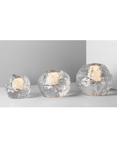 Orrefors Snowball Candleholders - Sale