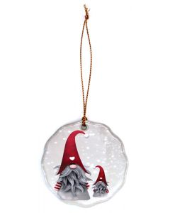 Snowfall Tomtar Ornament