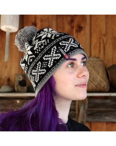 Snowflakes Knit Hat
