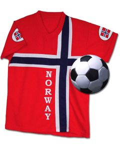 Kid's Norway Soccer Shirt