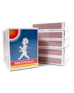 Solstickan Matches - 5 Pack