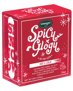 Spicy Glogy Herbal Tea