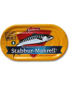 Stabburet Mackerel in Tomato