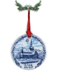 Stave Church Ornament 2015