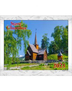 Stave Churches Calendar 2021