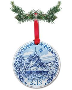 Stave Church Ornament 2013