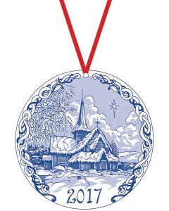 Stave Church Ornament 2017