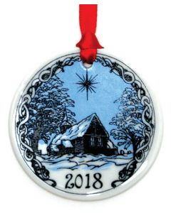 Stave Church Ornament 2018