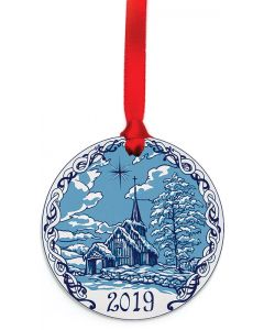 Stave Church Ornament 2019