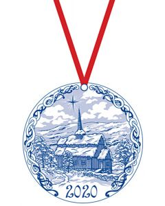 Stave Church Ornament 2020
