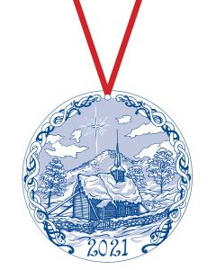 Stave Church Ornament 2021