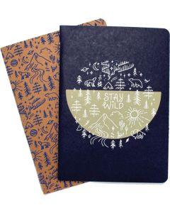 Stay Wild Notebooks Set