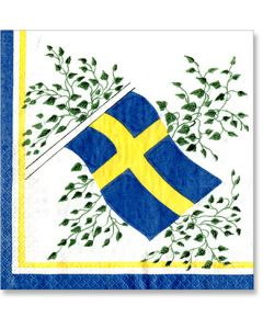 Scandinavian Flag Beverage Napkins