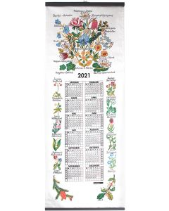 Sweden's Provinces' Flower Calendar 2021
