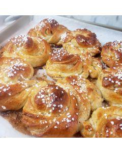 Swedish Cardamom Buns Baking Kit