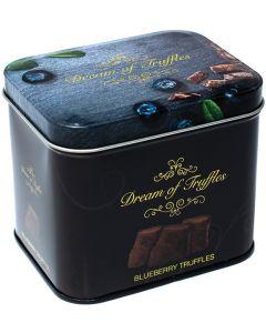 Swedish Chocolate Blueberry Truffles
