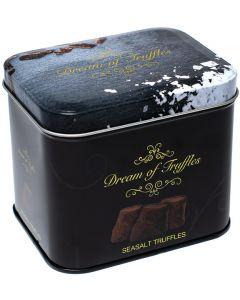 Swedish Chocolate Sea Salt Truffles