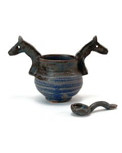 Tokheim Horse Head Sugar Bowl