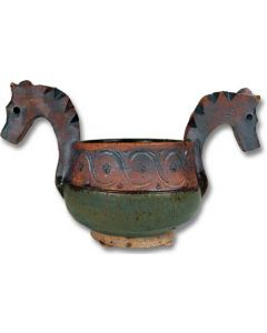 Tokheim Small Horse Head Ale Bowl