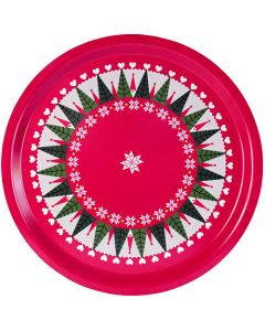 Tomtar in Trees Round Tray