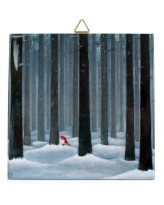 Tomte among the Tall Trees Tile