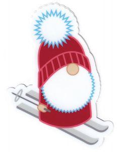 Tomte Skier Sticker