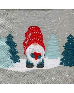 Tomte in Forest Napkins