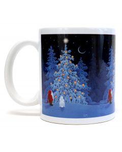 Tomte's Christmas Tree Mug