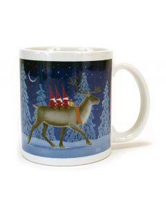 Tomtar on Reindeer Mug