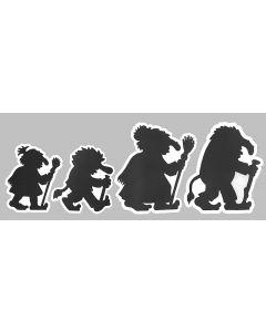 Troll Family Peel & Stick Stickers